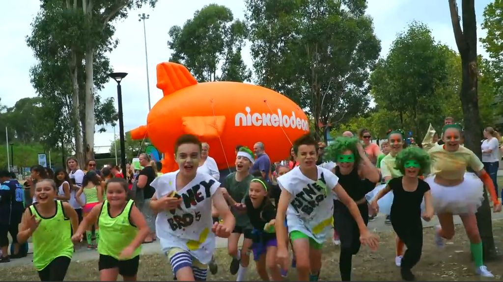 SLIME CUP SYDNEY AUDITIONS   Nickelodeon
