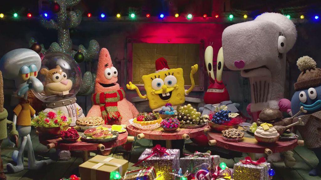 Spongebob Christmas.A Spongebob Christmas