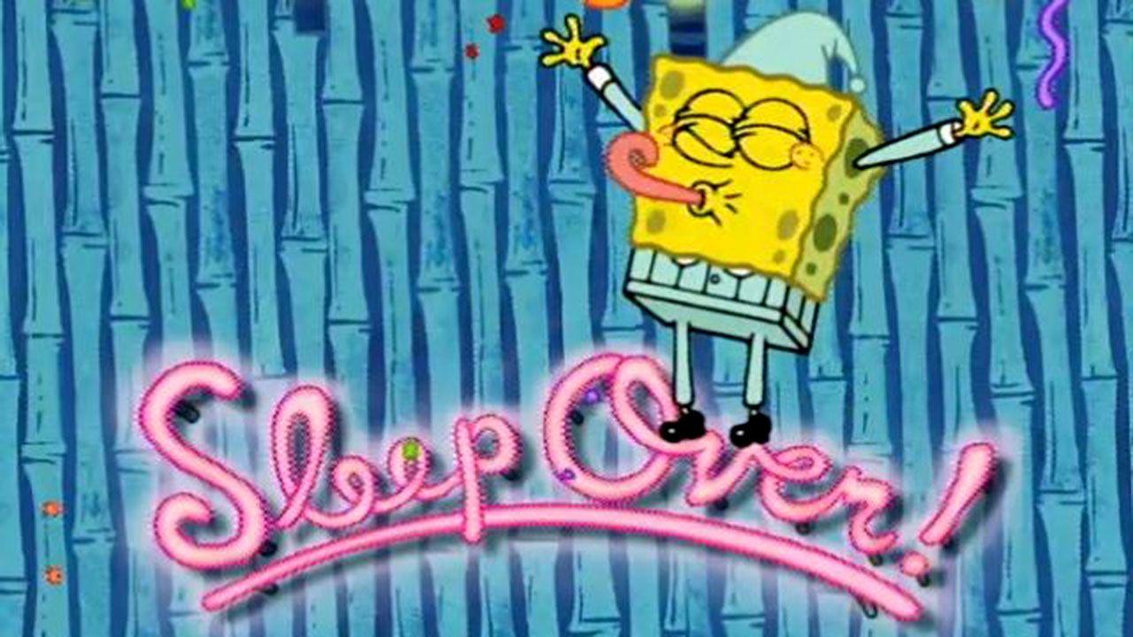 Spongebob Squarepants Night Light Slumber Party Nickelodeon