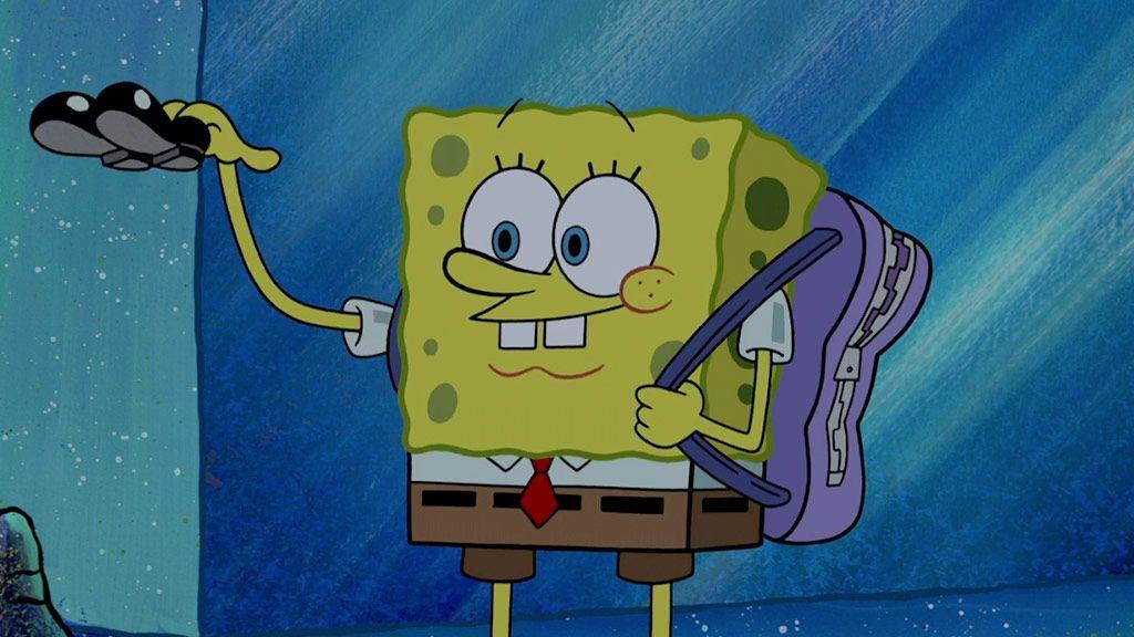 Spongebob Squarepants Squeaky Shoes Nickelodeon
