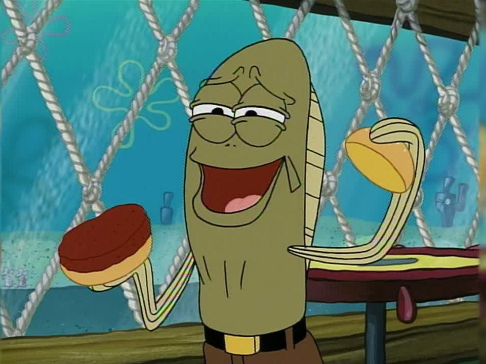 Krabby Patty with Jellyfish Jelly