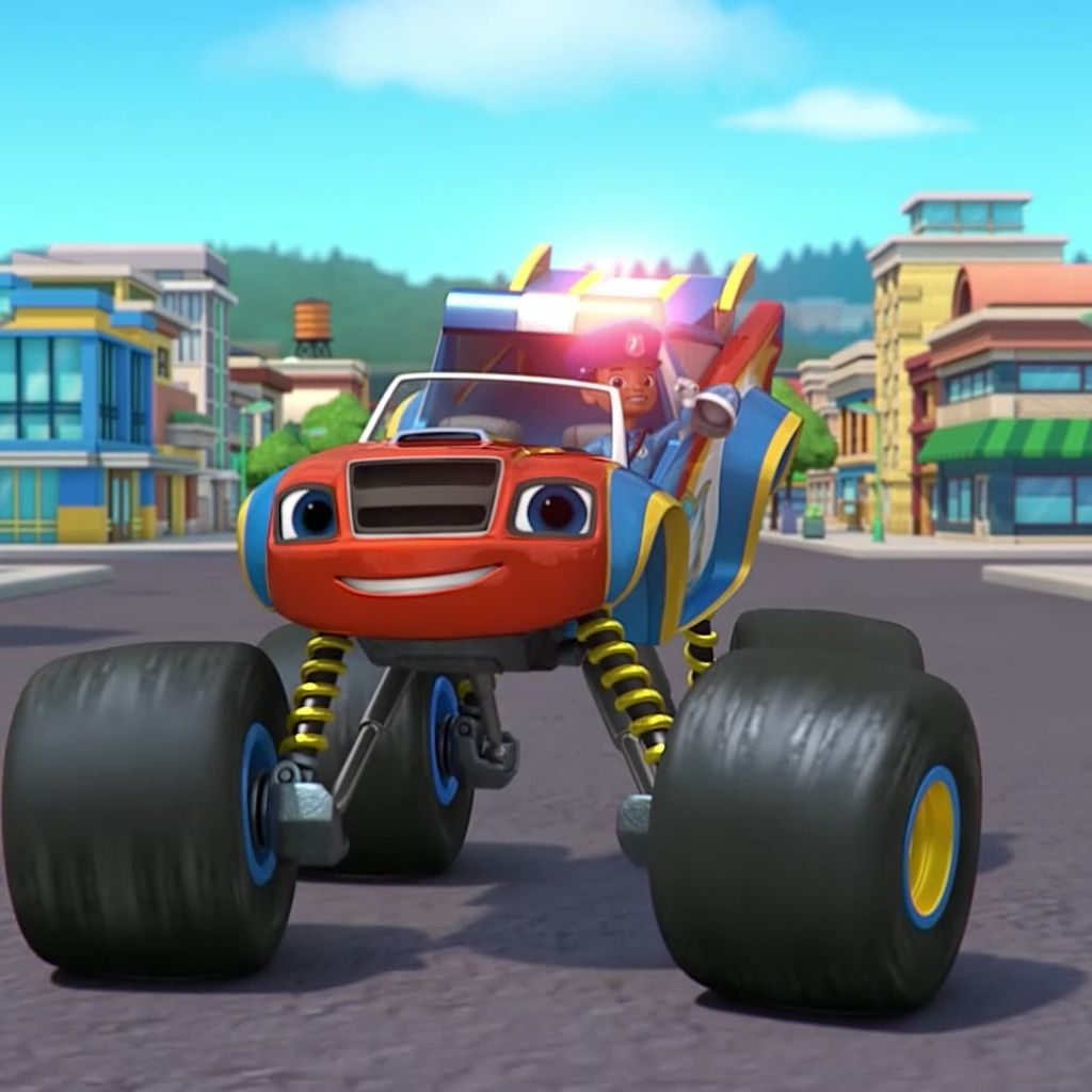 Blaze and the Monster Machines: Officer Blaze