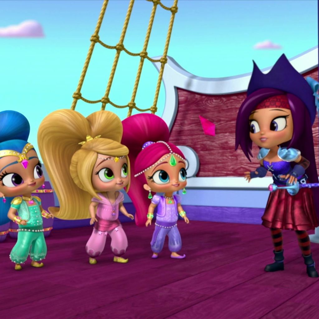 91c23e3fba Shimmer and Shine: A Pirate Genie's Life for Me
