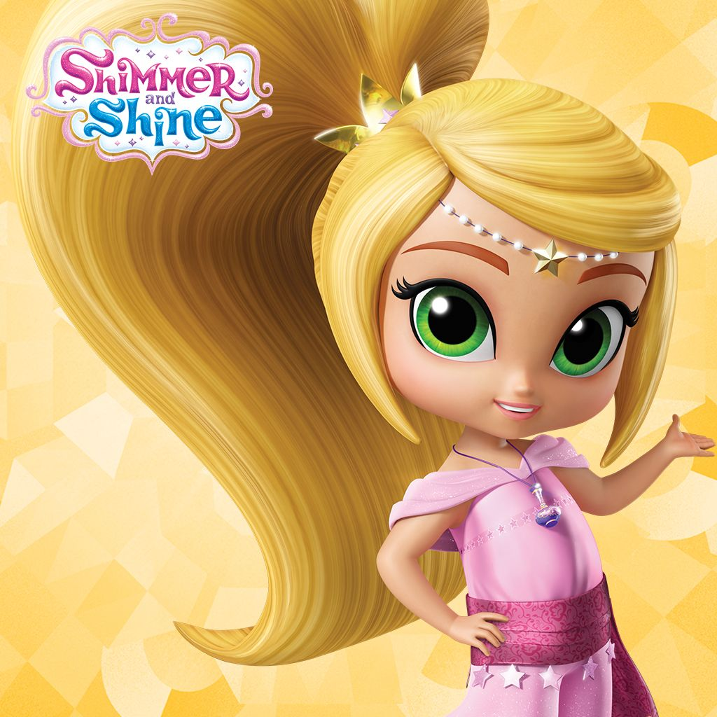 Shimmer And Shine Meet Leah