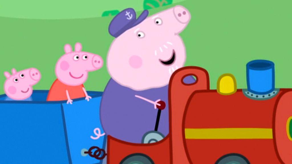 Grandpa Pigs Train Peppa Pig Video Clip S5 Ep137