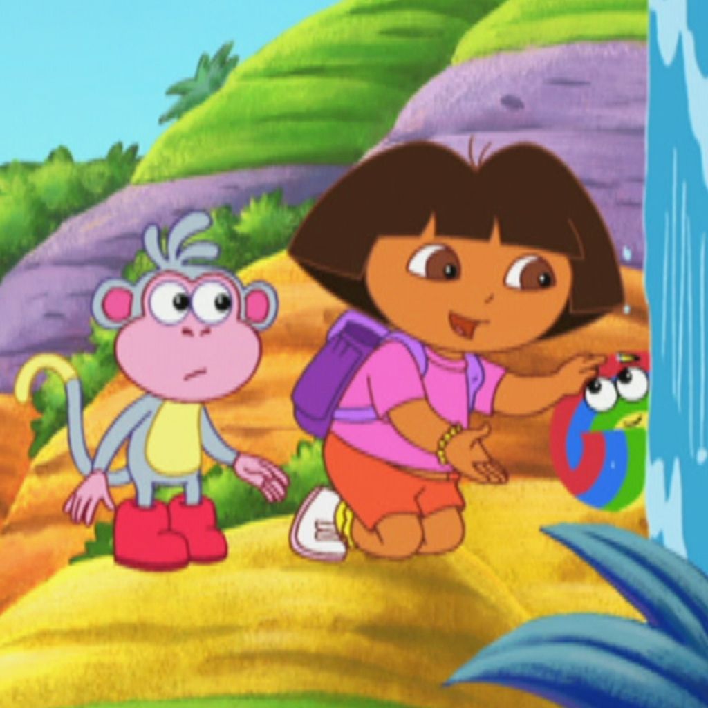 Shy Rainbow Dora The Explorer Video Clip S4 Ep 417