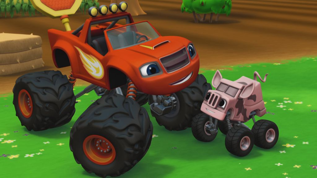 753c75dc47 Blaze and The Monster Machines  Pegue os porcos!