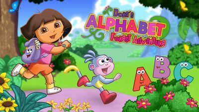 Dora The Explorer Gioca Con Dora S Alphabet Forest