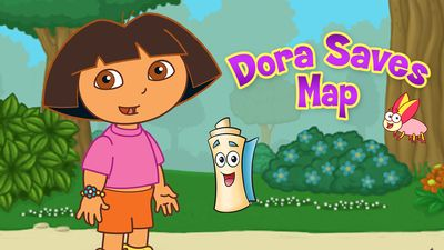 Dora Saves Map on