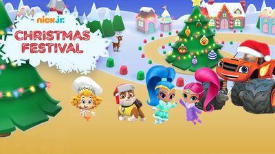 Nick Jr. Christmas Festival: Preschool Game on Nickjr.com
