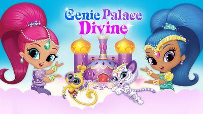 Shimmer Amp Shine Genie Palace Divine Adventure Game