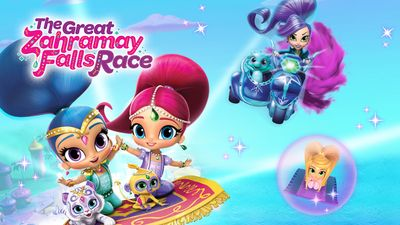 Shimmer and Shine: The Great Zahramay Falls Race