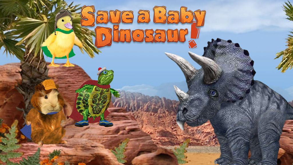 Wonder Pets Save A Baby Dinosaur Game! Great game for kids ...