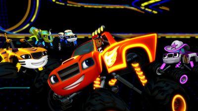 Blaze S Speed Lights Blaze Video Clip S3 Ep306
