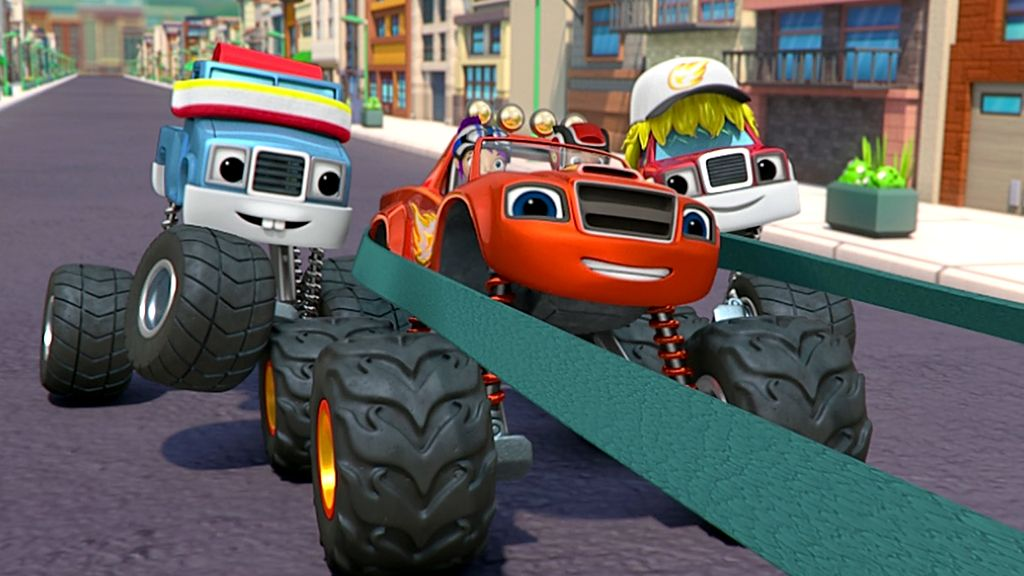 Stunt Mania Blaze Und Die Monstermaschinen S1e106