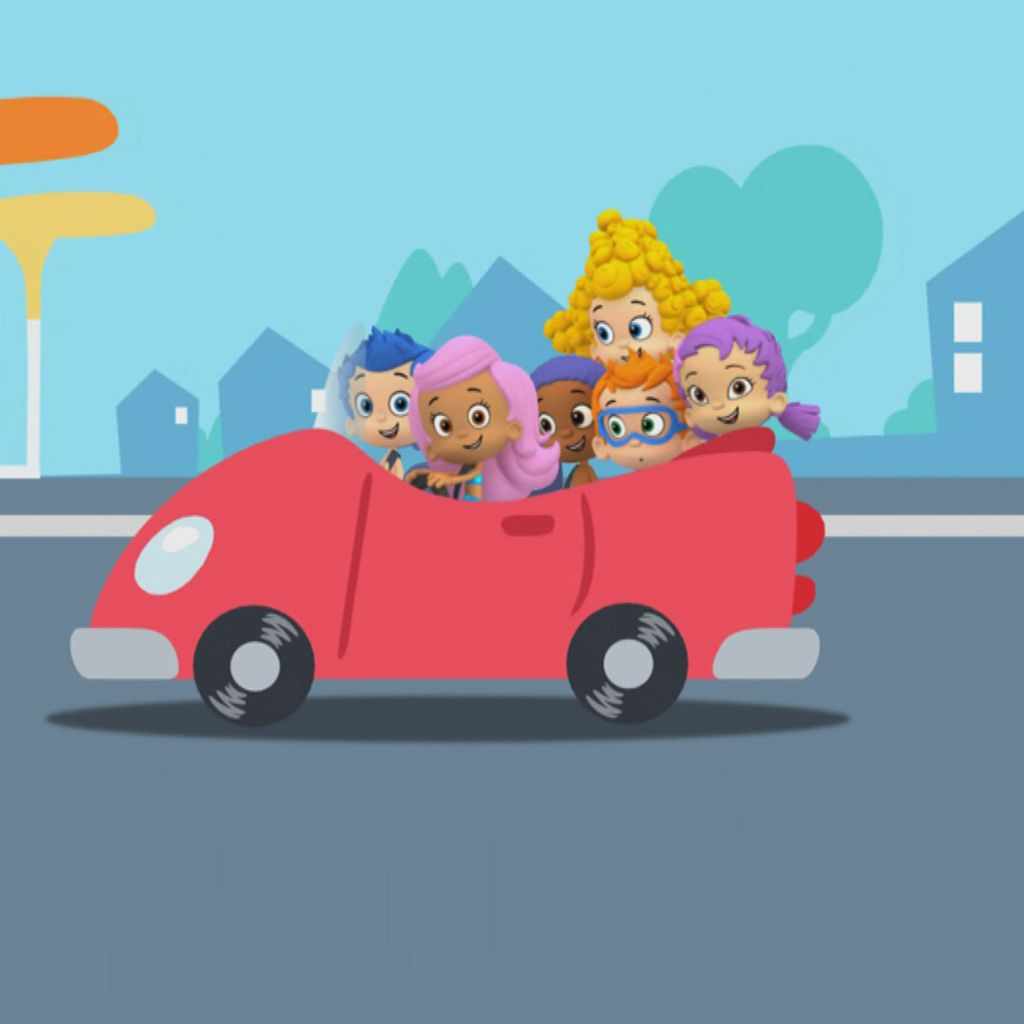 Bubble Guppies: Wheels Go Round