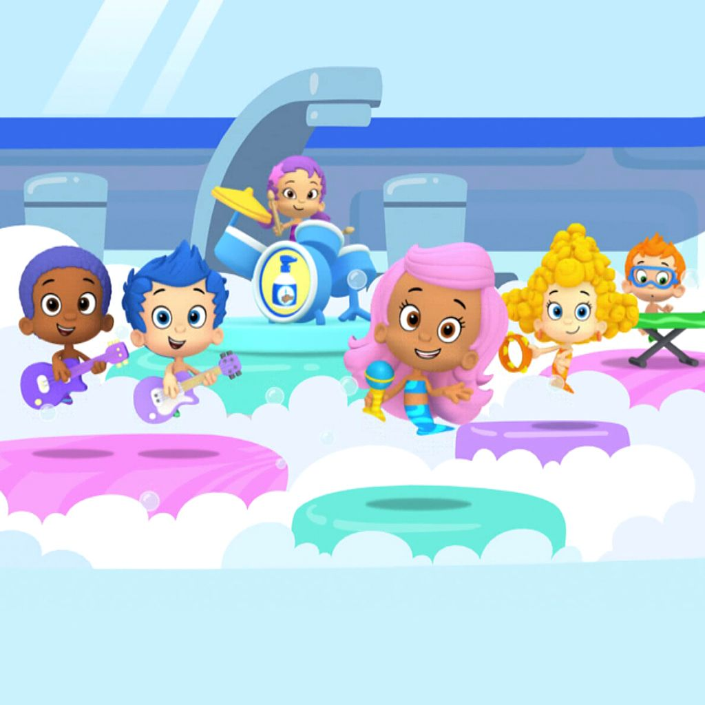 Bubble Guppies: Wash 'em Off