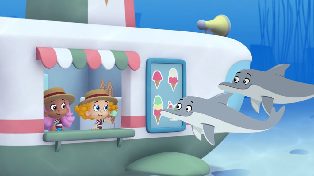 bubble guppies a dolphin is a guppys best friend