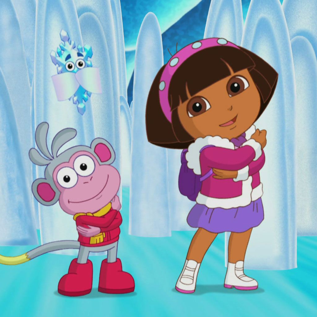 Get a Move On: Dora the Explorer Cool Cave Escape