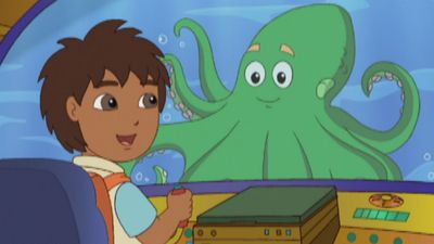 Giant Octapus To The Rescue Go Diego Go S2 Ep214