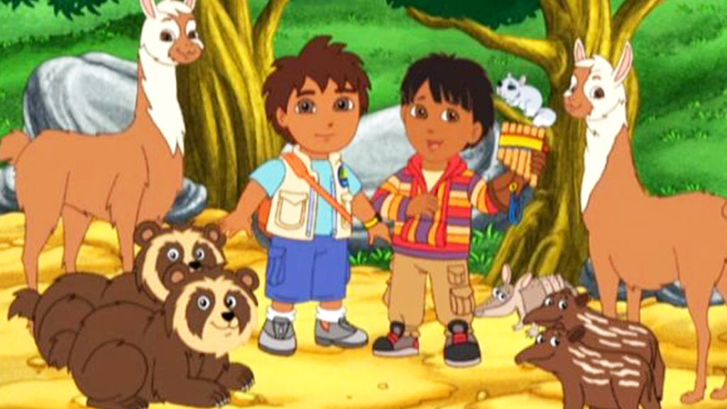 Diegos Wolf Pup Rescue Video Go Diego Go S1 Ep112