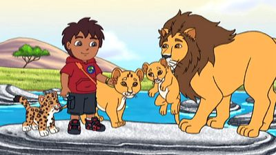 River Rescue Go Diego Go S4 Ep405
