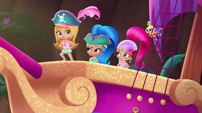 Pirates All Aboard Shimmer And Shine Video Clip S1 Ep107