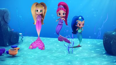 Swim Like A Mermaid Shimmer Shine Video Clip S2 Ep205