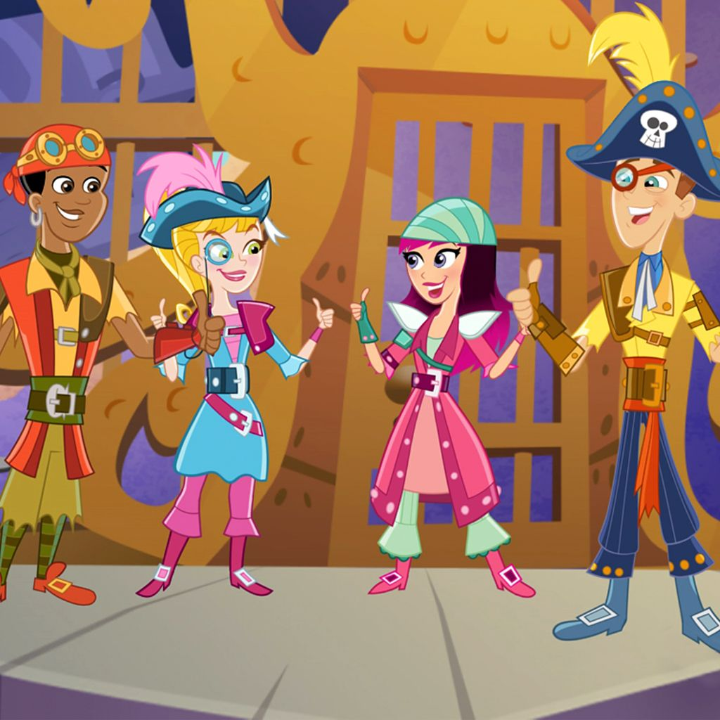 Fresh Beat Band of Spies: Ahoy Matey