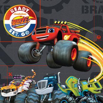 Blaze and The Monster Machines: Preparar, apontar, valendo!