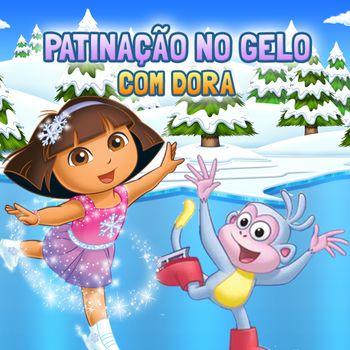 Patinação no gelo com Dora