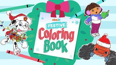 Nick Jr. Festive Coloring Book