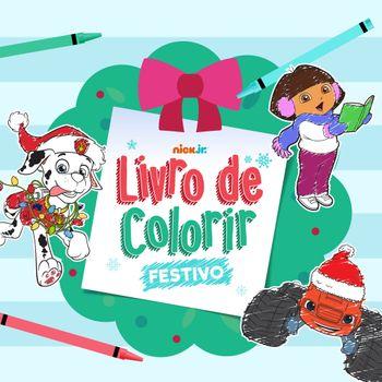 Livro de Colorir Festivo