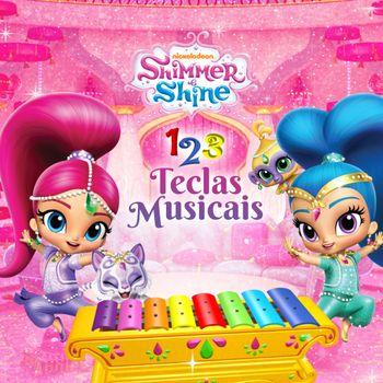 Shimmer e Shine: 1,2,3 Teclas Musicais