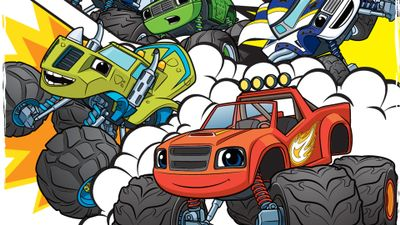 Coloriage Fonce Blaze.Blaze Et Les Monster Machines Fonce Blaze Video 1 2 3