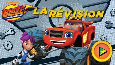 Coloriage Fonce Blaze.Joue En Ligne Au Jeu La Revision De Blaze Et Les Monster Machines