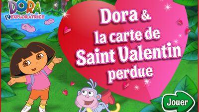 Joue en ligne au jeu la carte de saint valentin perdue de - Jeux de dora 2015 ...