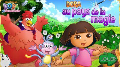 Joue En Ligne Au Jeu Dora Au Pays De La Magie De Dora L