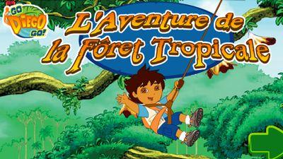 Joue en ligne au jeu l 39 aventure de la for t tropicale de dora l 39 exploratrice - Jeux de go diego ...