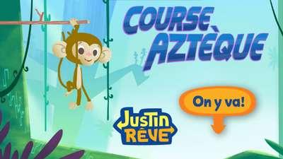 Joue en ligne au jeu course azt que de justin r ve - Jeux de nick junior ...