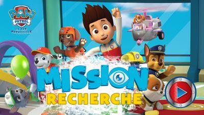 Joue En Ligne Au Jeu Mission Recherche De Paw Patrol La