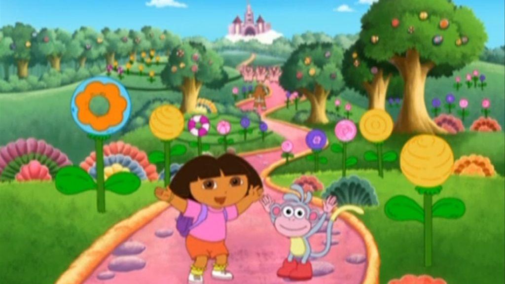 Au pays des fées - Dora l\'exploratrice