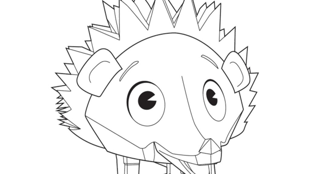 Zack and Quack|Fluffy: Colouring Pages for Preschoolers