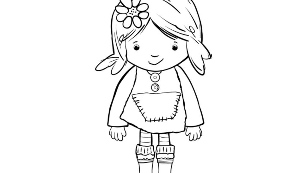Lily's Driftwood Bay|Lily: Colouring Pages for Preschoolers
