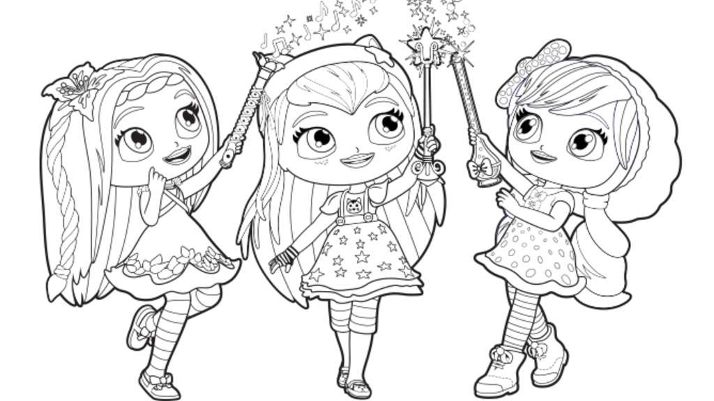 Little Charmers|Little Charmers Group Colour: Colouring