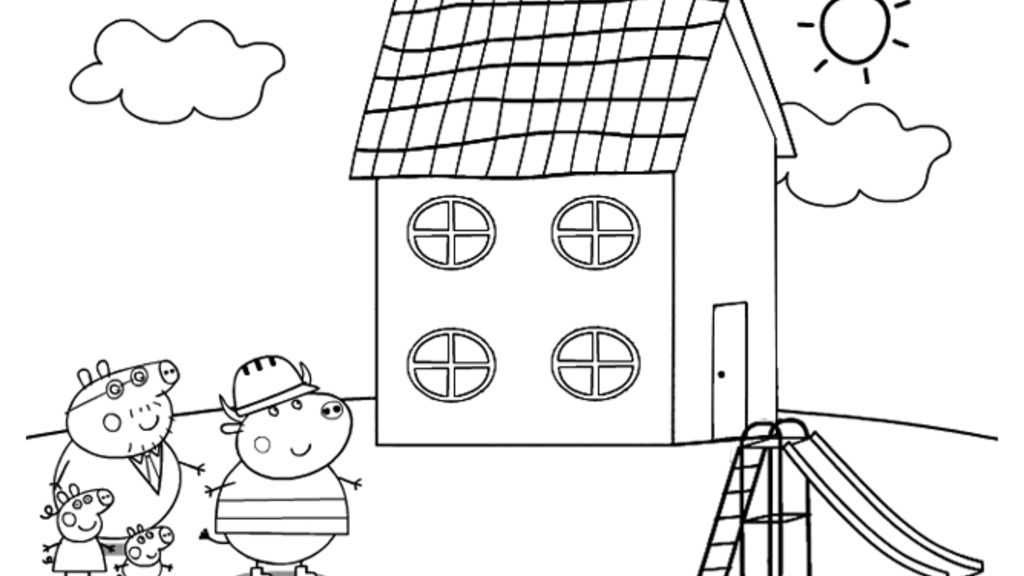 Peppa Pig - The New House - Circle Windows And