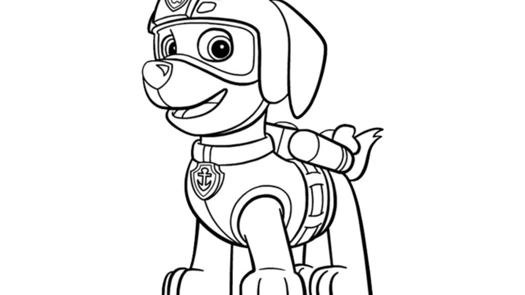 paw patrol|paw patrol - zuma: colouring pages for preschoolers ... - Nick Jr Characters Coloring Pages