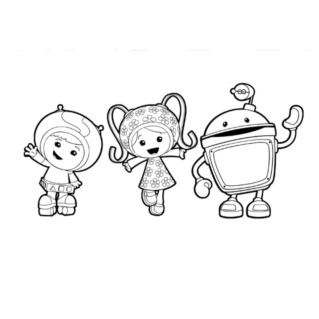 Nick Jr Team Umizoomi Coloring PagesJrPrintable Coloring Pages