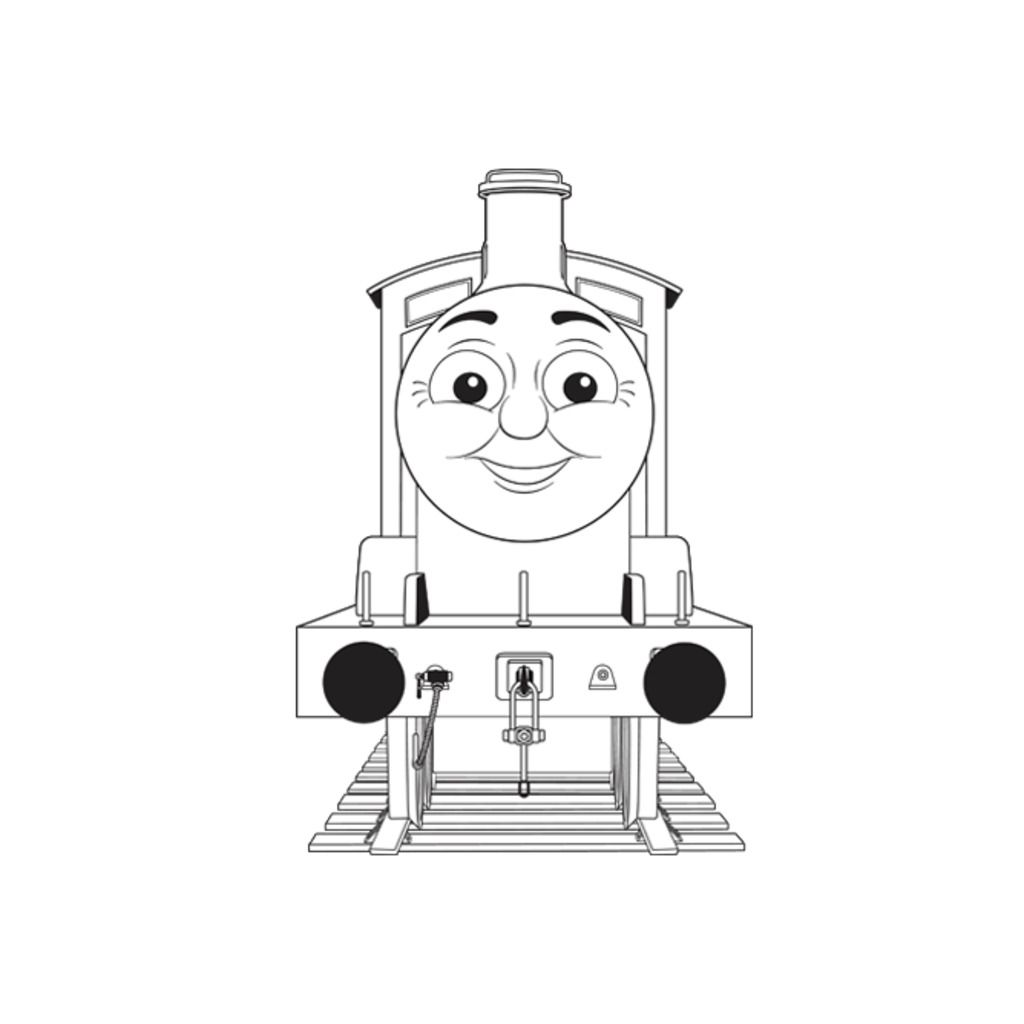 Tv Series Coloring Pages Gordon Thomas Friends