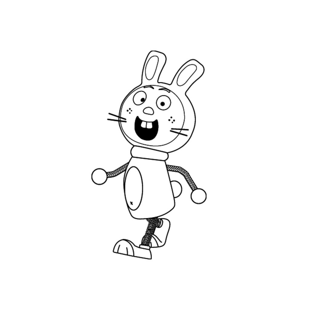 Tickety toc hopparoo from tickety toc colouring pages for Tickety Toc Clock Coloring Pages tickety toc coloring sheets Fanboy & Chum Chum Coloring Pages